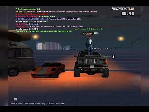 Tuning sraz GTA San Andreas multiplayer