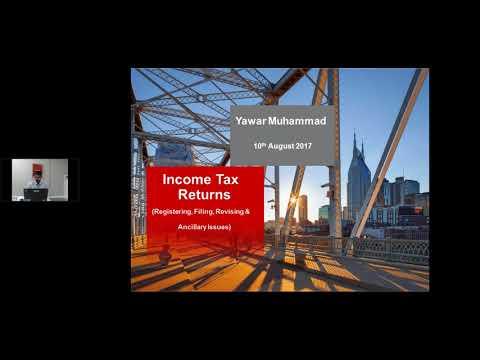 Income tax return filing procedure -19