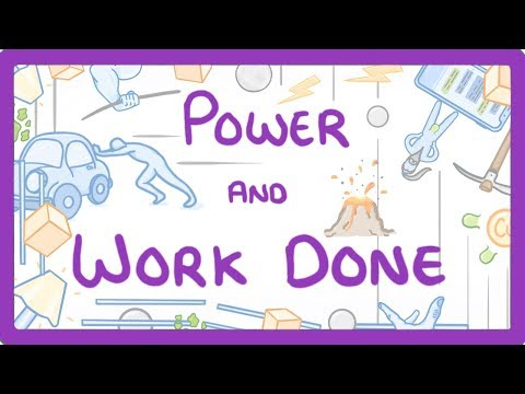 GCSE Physics - Power and Work Done  #7