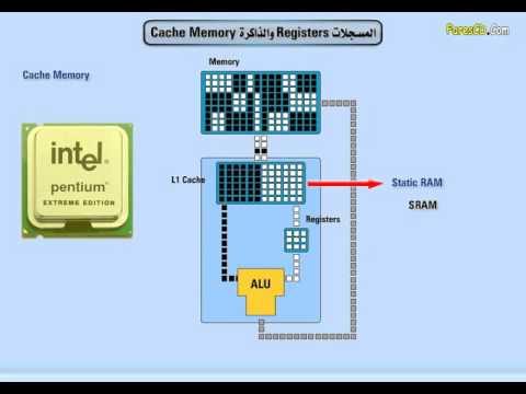 30 - المعالج، Registers - Cache Memory