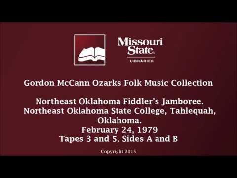 McCann: Northeast Oklahoma Fiddler's Jamboree, February 24, 1979