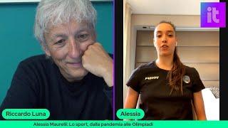 TechTalk con la ginnasta Alessia Maurelli: lo sport, dalla pandemia alle Olimpiadi