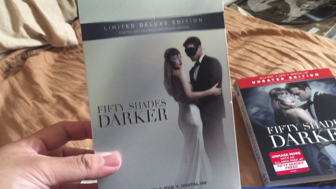 Download Fifty Shades Darker Bluray Unboxing Target Exclusive