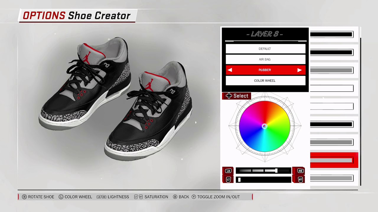 NBA 2K18 Shoe Creator - Air Jordan 3
