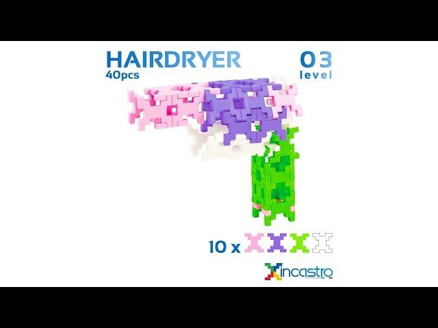 INCASTRO | Level 3 | Hairdryer