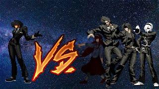 M.U.G.E.N. Kulou VS Element Team (simul)
