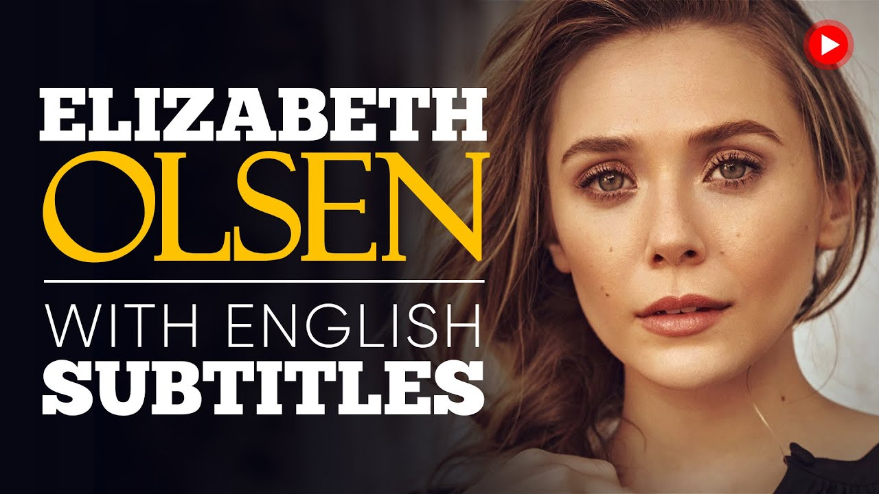 ENGLISH SPEECH | ELIZABETH OLSEN: The Latitude Project (English Subtitles)