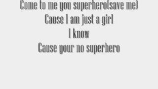 The Pretty Reckless-Superhero Lyrics(on the screen)+Download Link