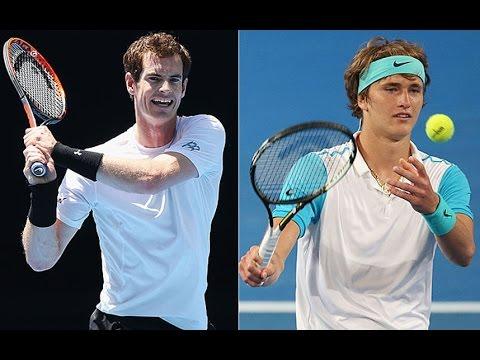 Murray gives Zverev nosebleed as he breezes through in Melbourne heat