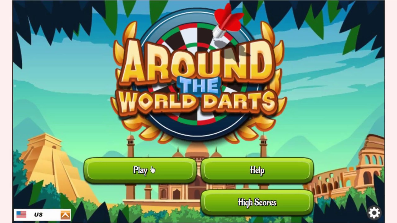 How To Play Around The World Darts Game Free Online Games