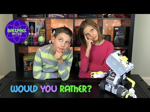 Meccano MAX: Let's Play a Game of Would You Rather! | Fun STEM Toys