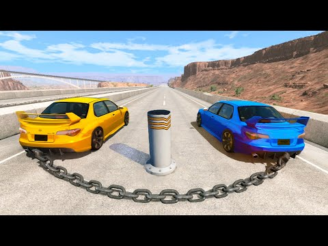 Satisfying Car Crashes Compilation #14 Beamng Drive (Car Shredding Experiment)