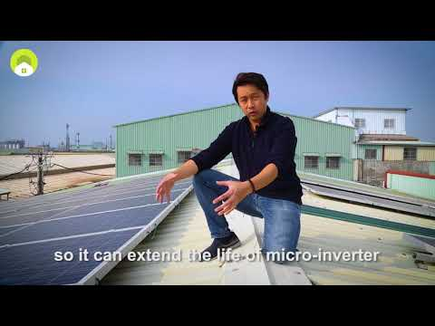 How KiWi New Energy's Smart Inverter System Works at a Rooftop Solar PV Site
