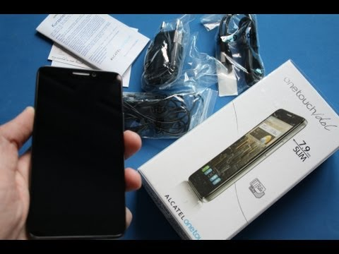 Alcatel One Touch idol Dual SIM - Unboxing // (6030D)