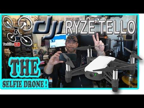 DJI RYZE TELLO le SELFIE Drone par Excellence ! Review Test Démo .