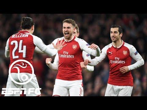 Arsenal routs CSKA Moscow 4-1 in Europa League quarterfinals | ESPN FC