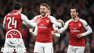 Arsenal routs CSKA Moscow 4-1 in Europa League quarterfinals | ESPN FC