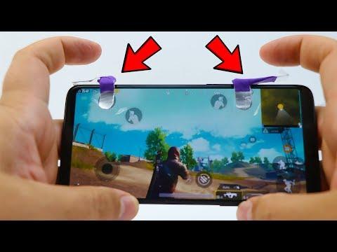 DIY Phone L1 R1 Trigger Buttons for PUBG Mobile & Fortnite
