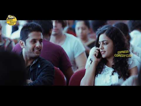 Nithya Menen & Nithiin Blockbuster Movie Hilarious Comedy Scene | Express Comedy Club