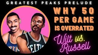 Russell's statistical case over Wilt | Greatest Peaks Ep. 1