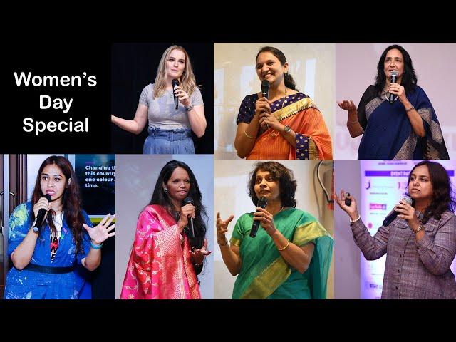 Saluting Women | Women's Day | Paula McGlynn | Laxmi Agarwal | Lt.Gauri Mahadik