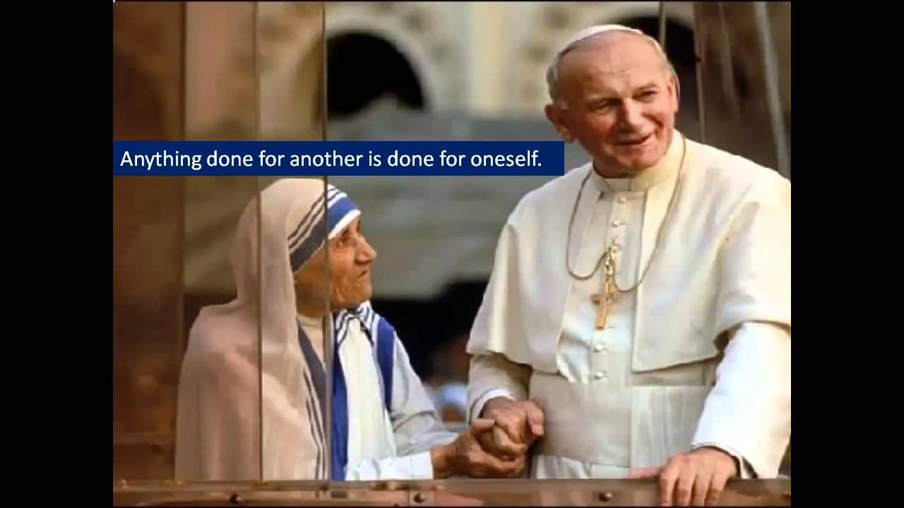 Pope John Paul Ii Quotes Enchanting Quotes Of Blessed Pope John Paul Ii.mp4  Youtube