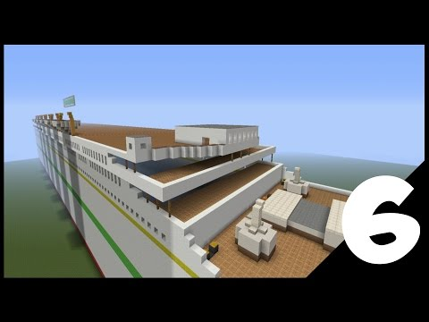 Minecraft lets build- Britannic Ep.06 captains room and life boats