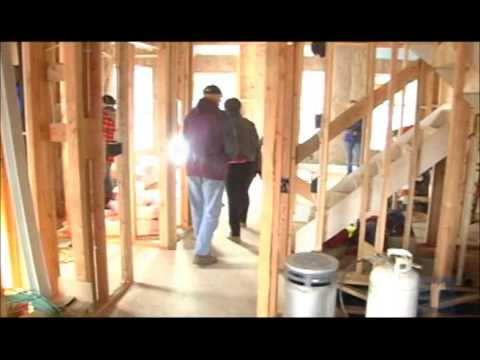 Martin Luther King Jr. day of service activities with Habitat for Humanity of Greater Newburgh