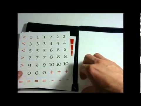 Как разрезать кассу букв слогов и счета