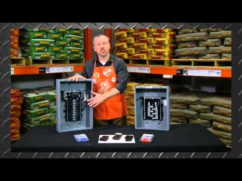 Square D Homeline Load Centers and Circuit Breakers - The Home Depot