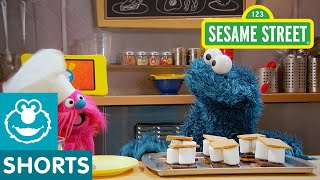 Sesame Street: How to Make S'mores! | Cookie Monster's Foodie Truck