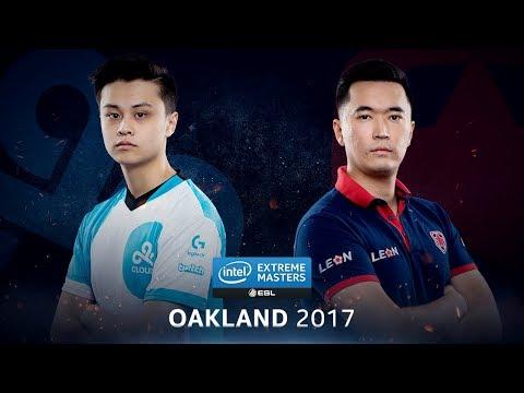 CS:GO - Cloud9 vs. Gambit [Cbble] Map 2 - Quarterfinal - IEM Oakland 2017