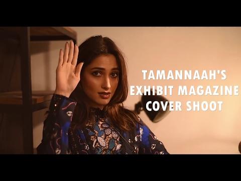 Tamannaah Bhatia Cover Shoot of Exhibit Magazine February 2017