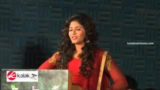 Anjali at Iraivi Movie Press Meet