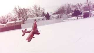 Rc Biplane With Snow Ski's (pdf) Plans Now Available. Http://foamconceptjets.yolasite.com