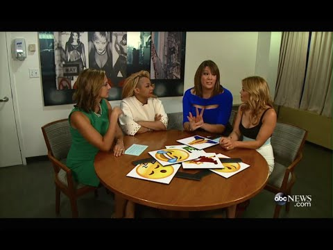 ABC News - Candace Cameron Bure, Paula Faris, Raven-Symone and Michelle Collins Chat Using Emojis