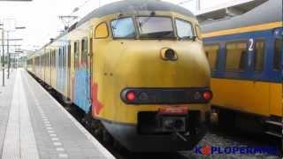 NS Treinen op station Zwolle, 23 augustus 2012