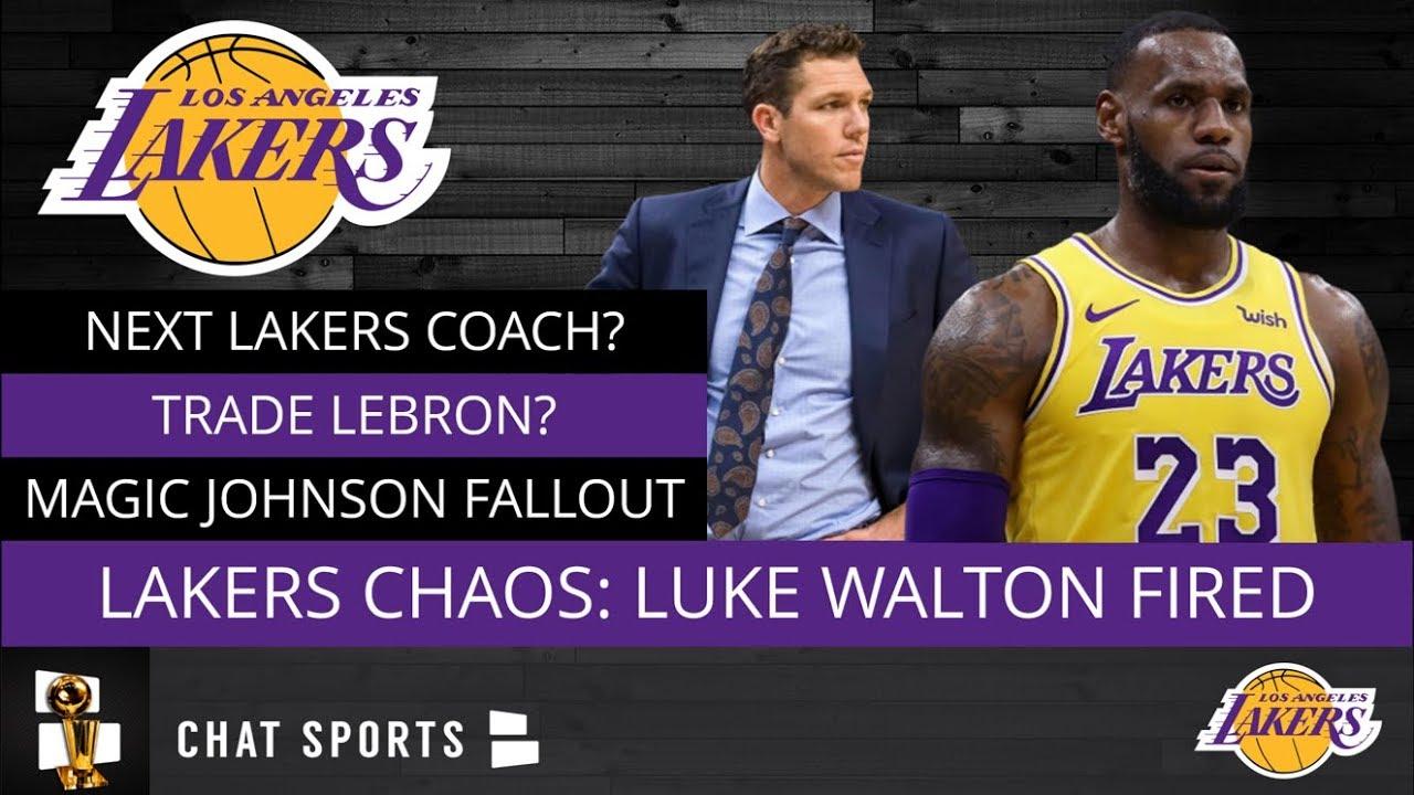 8583e6c2295 Luke Walton Fired  Lakers Rumors On Next Coach