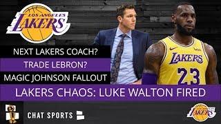 Luke Walton Fired: Lakers Rumors On Next Coach, LeBron On Trade Block, & Magic Johnson Fallout