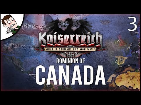INVADING FLORIDA! Dominion of Canada - Kaiserreich Mod Hearts of Iron 4 Gameplay Part 3