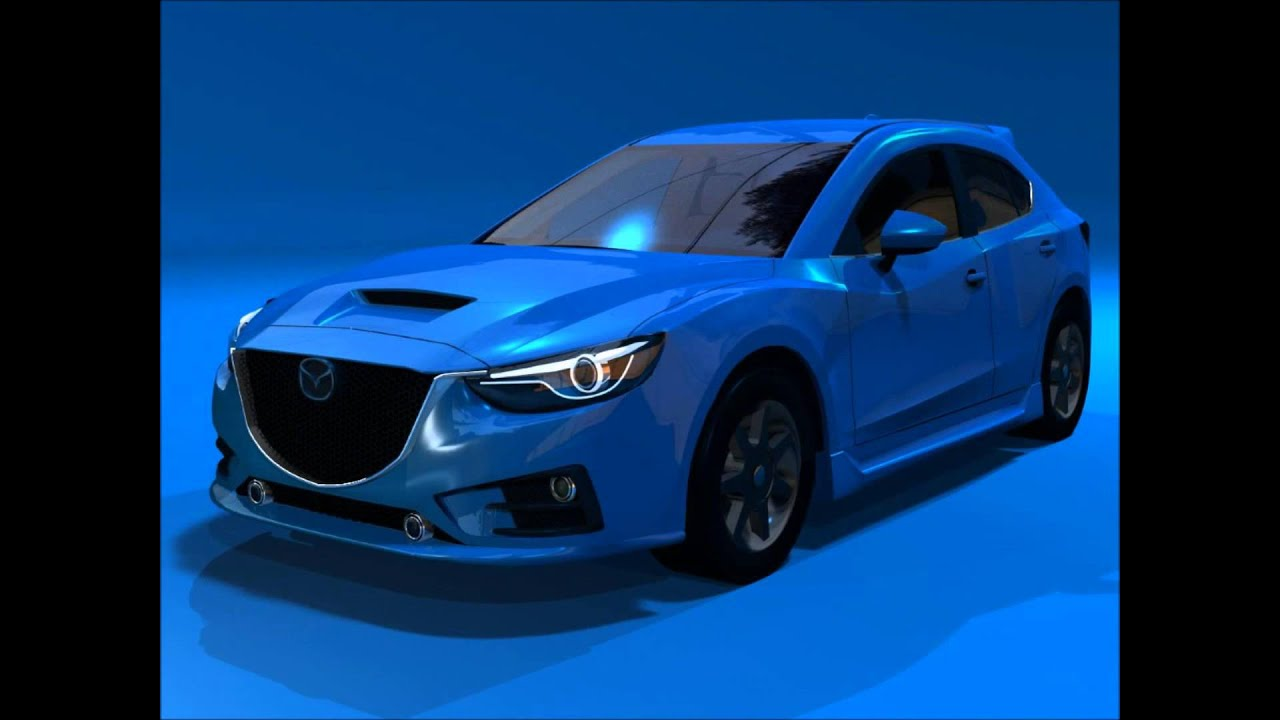 Perfect Mazdaspeed3. Prototype Car. 2014 Or 2015   YouTube