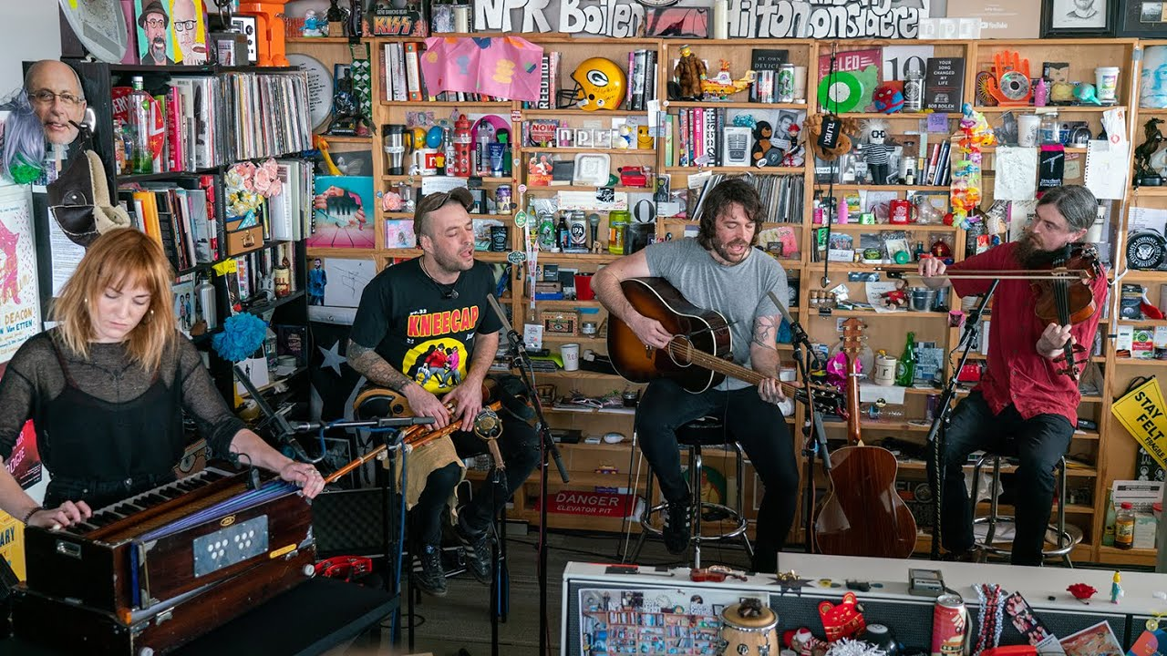 Lankum: NPR Music Tiny Desk Concert
