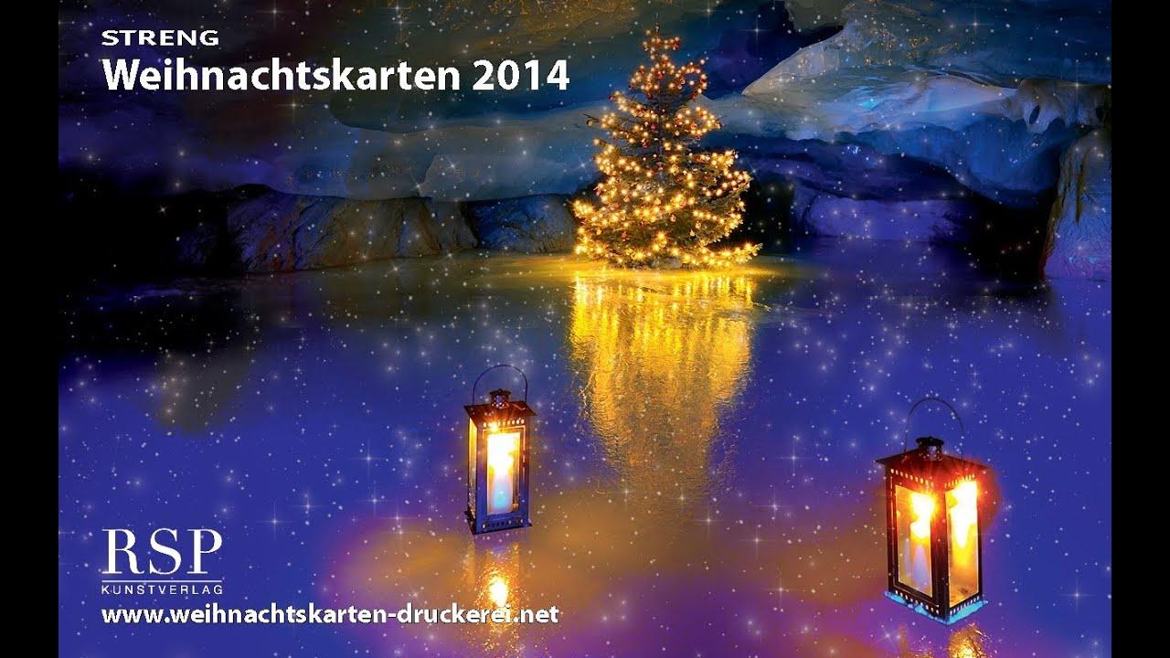 weihnachtskarten programm 2014 weihnachtskarten youtube