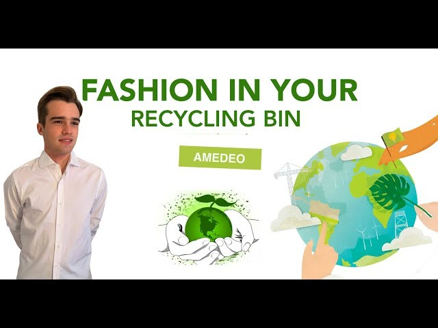Fashion in your recycling bin | Amedeo Balbo di Vinadio