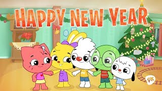 Happy New Year | I Love To Learn | New Year's Song for Kids