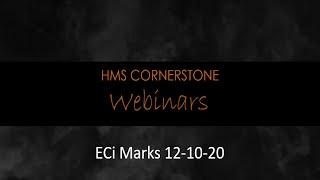 ECi Marks Webinar