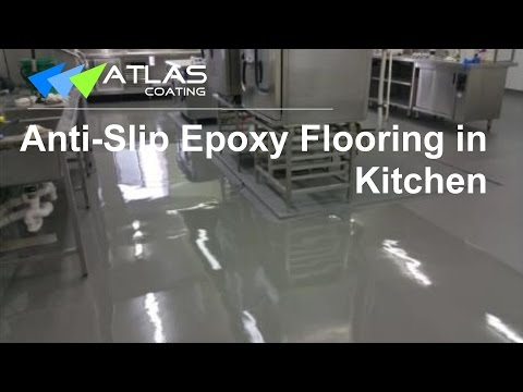 Epoxy Flooring in a Commercial Kitchen
