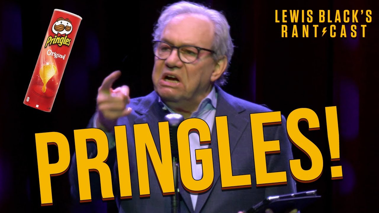 Lewis Black's Rantcast - What Is With The Pringles Can?