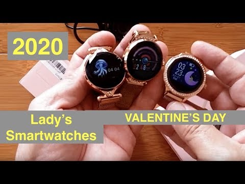Mrs. Ticks Picks 2020: Women's Valentine's Smartwatches for the Ladies - Android, Fitness, Fashion