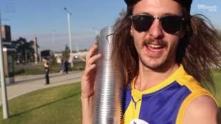 AFL Grand Final 2018: West Coast fans go CRAZY after preliminary final
